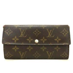 Auth Louis Vuitton Portefeiulle Sarah #1039L70